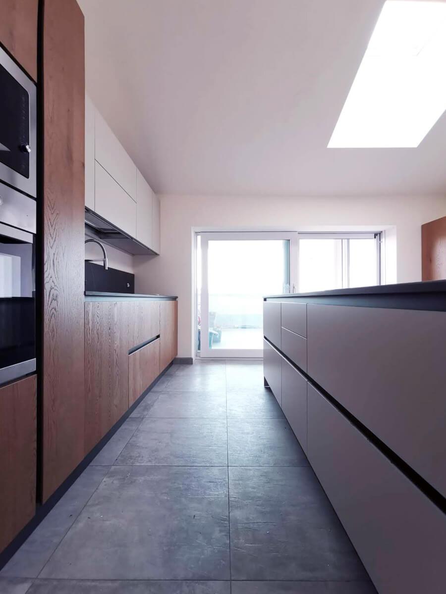 Nuova Cucina Loft con piano in Dekton - Mobili Pasini